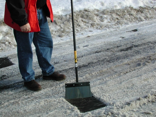Ice On Your Driveway How To Plumbing And Home Repair