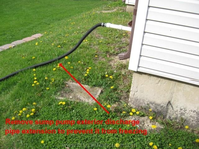 How To Drain Sump Pump Water Away From A House 26