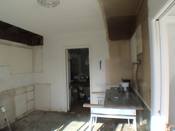 kitchen remodel demo